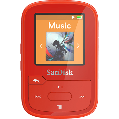 SANDISK<sup>®</sup> CLIP SPORT PLUS MP3 PLAYER